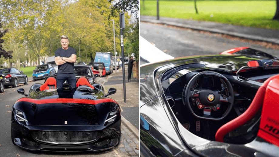 Chef Gordon Ramsay comprou um dos 100 Ferrari Monza SP2