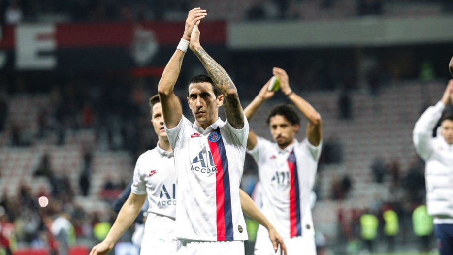Paris Saint-Germain goleia na visita ao reduto do Nice