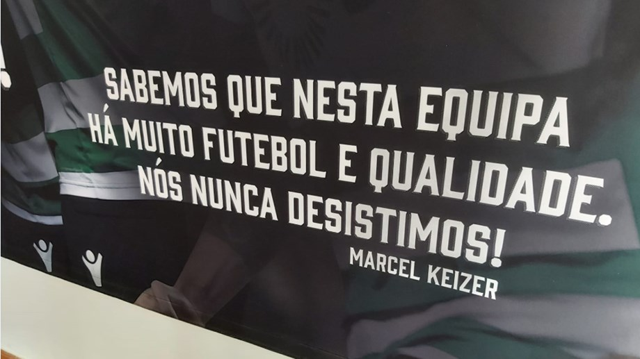Sporting Colocou Frase De Keizer Na Academia Sporting