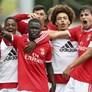 Liga Revelação: Benfica impõe primeira derrota da época ao Sporting