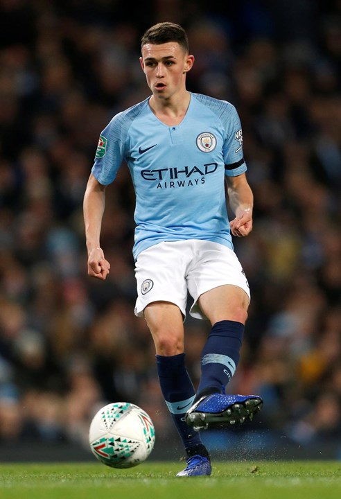 Phil Foden - Manchester City - 19 anos