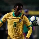 Wendel novamente titular pela seleção olímpica do Brasil