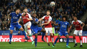 Leicester City-Arsenal: gunners em momento pouco convincente