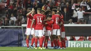 Santa Clara-Benfica: encarnados querem esquecer desaire europeu