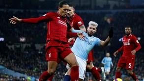 Liverpool-Manchester City: duelo de 'titãs' na Premier League