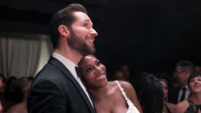 Serena Williams recorda casamento