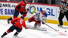 NY Rangers-Washington Capitals: líderes visitam a Big Apple