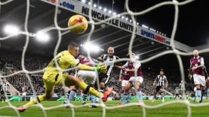 Aston Villa-Newcastle: fecho de jornada em Inglaterra