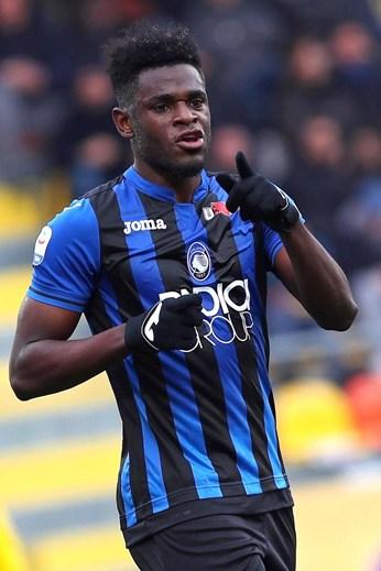 6 - Zapata joga no Atalanta, emprestado pelo Sampdoria (valor de mercado: 47,3M)
