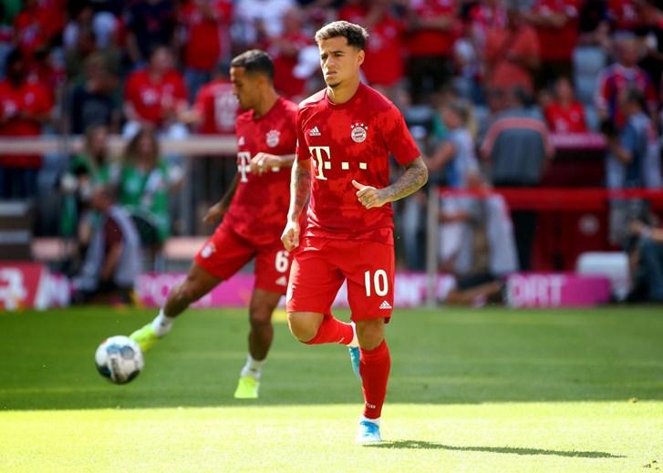 1 - Coutinho joga no Bayern Munich, emprestado pelo Barcelona (valor de mercado: 96,5M)