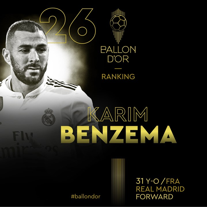 26 - Benzema (Real Madrid)