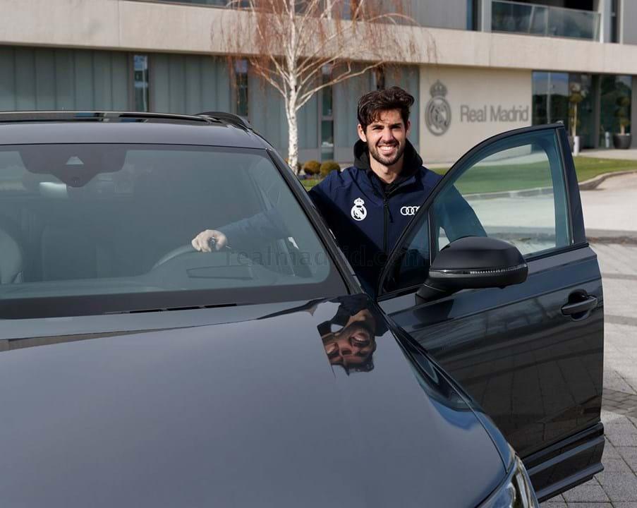 Isco escolheu um Audi Q7 50 TDI quattro tiptronic, avaliado em 76.335 mil euros.