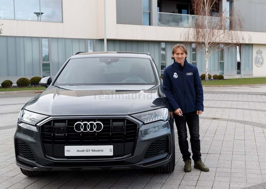 Modric escolheu um Audi Q7 50 TDI quattro tiptronic, avaliado em 76.335 mil euros.