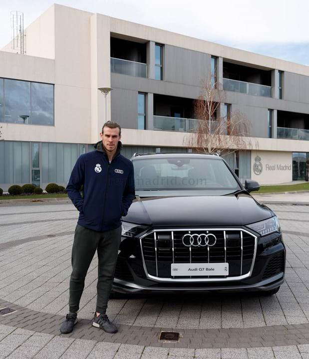 Bale escolheu um Audi Q7 50 TDI quattro tiptronic, avaliado em 76.335 mil euros.