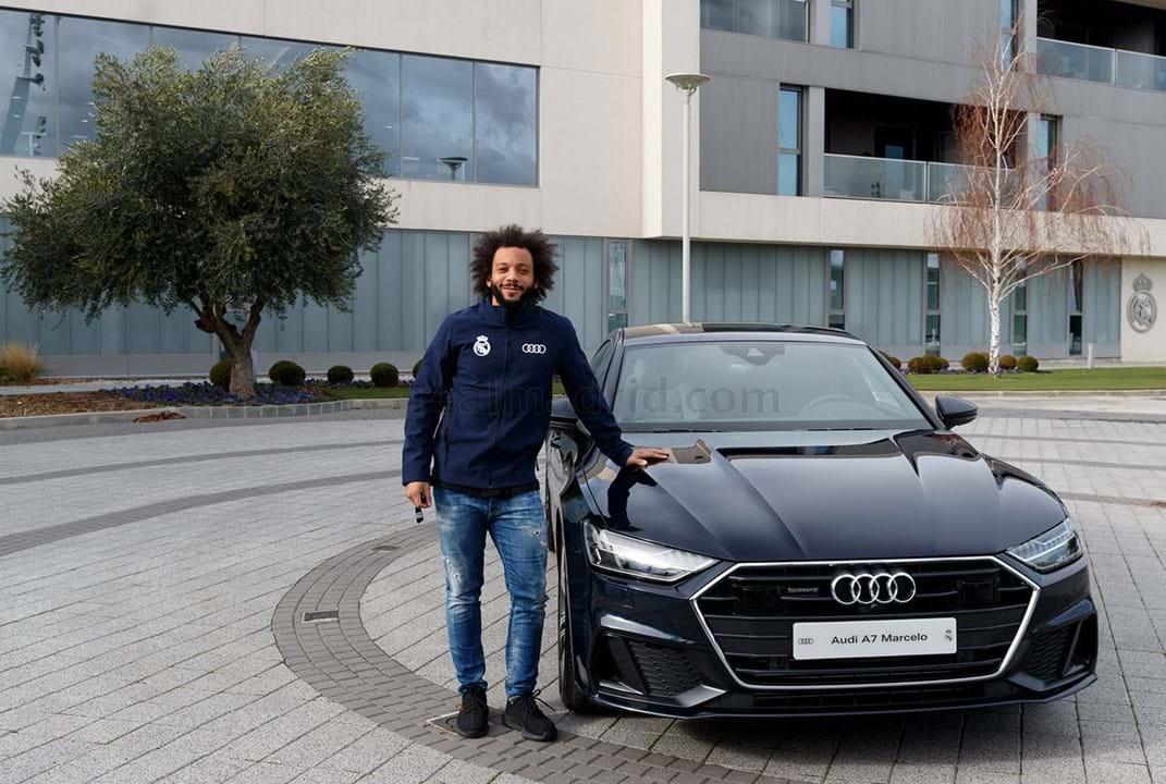 Marcelo escolheu um Audi A7 Sportback 50 TDI quattro tiptronic, avaliado em 79.630 mil euros.