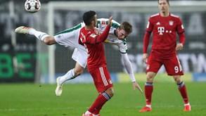 Bor. M'gladbach-Bayern Munique: líder com teste de fogo