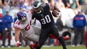 Philadelphia Eagles-New York Giants: objetivos diferentes na mira