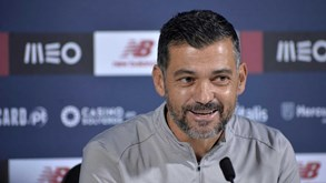 Sérgio Conceição e as 'saudades' do Restelo