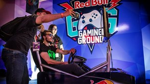 Red Bull Gaming Ground Pop Up anima Lisboa