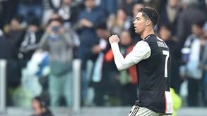 Cristiano Ronaldo está sempre lá