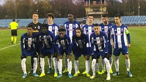FC Porto recebe  Salzburgo no 'playoff' da UEFA Youth League