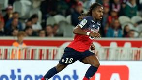 Monaco-Lille: Renato Sanches e Leonardo Jardim travam forças