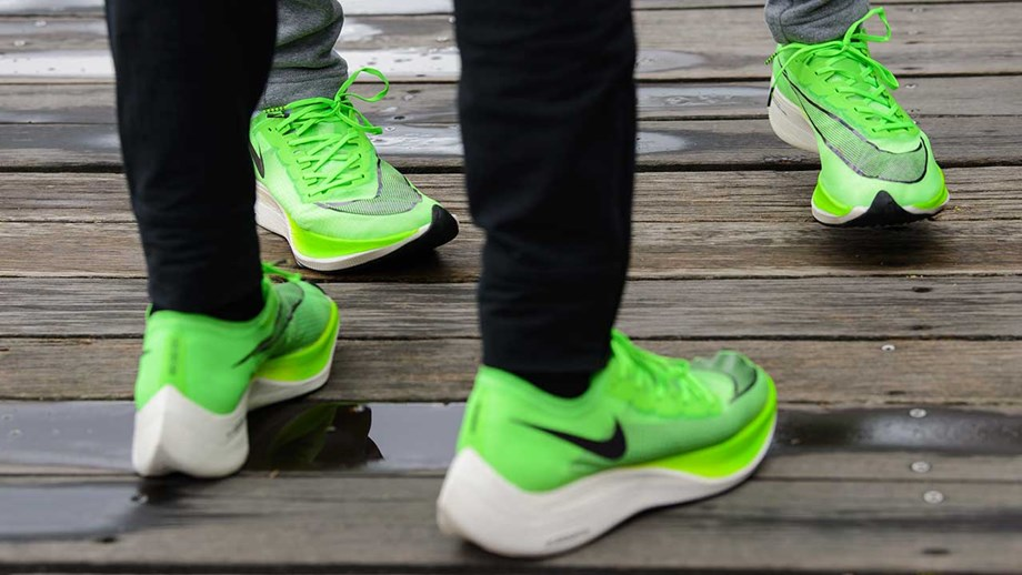 Nike Vaporfly Elite Nike usado para quebrar recorde de