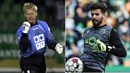 SPORTING/Guarda-redes - Peter Schmeichel/Luís Maximiano