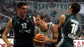 CSKA Moscovo-Panathinaikos: formações à procura dos lugares cimeiros