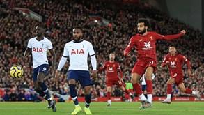 Tottenham-Liverpool: Mourinho tenta travar uma dupla crise