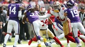 Minnesota Vikings-San Francisco 49ers: agora é a valer!
