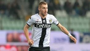 Parma-Lecce: Bruno Alves ausente por lesão