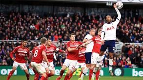 Tottenham-Middlesbrough: Mourinho procura regresso às vitórias