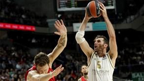 CSKA Moscovo-Real Madrid: duelo de topo na Euroliga