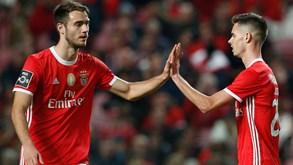 Alarme central no Benfica