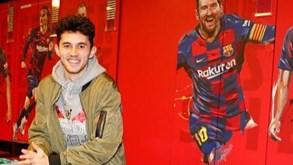 «Estava a jogar Fortnite quando o meu pai me ligou a dizer que ia para o Barcelona»