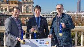 Maratona de Sevilha a caminho do recorde com 'batalha' entre Portugal e França