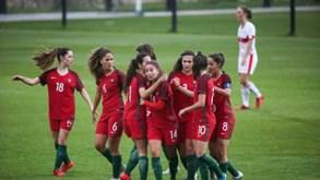 Seleção portuguesa de feminina de sub-19 goleia no primeiro particular ante Suíça
