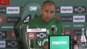 Silas aponta ao símbolo do Sporting: «Não há ambição maior do que usar isto ao peito»