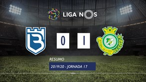 O resumo do Belenenses SAD-V. Setúbal