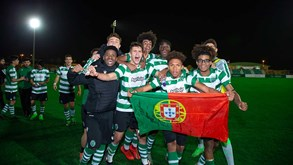 Juvenis do Sporting na final da Saudi Leaders Cup