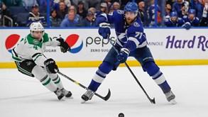 Dallas Stars-TB Lightning: duelo de topo na NHL