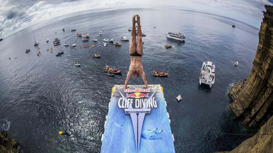 Etapa açoriana do Red Bull Cliff Diving regressa a 6 de setembro ao ilhéu de Vila Franca
