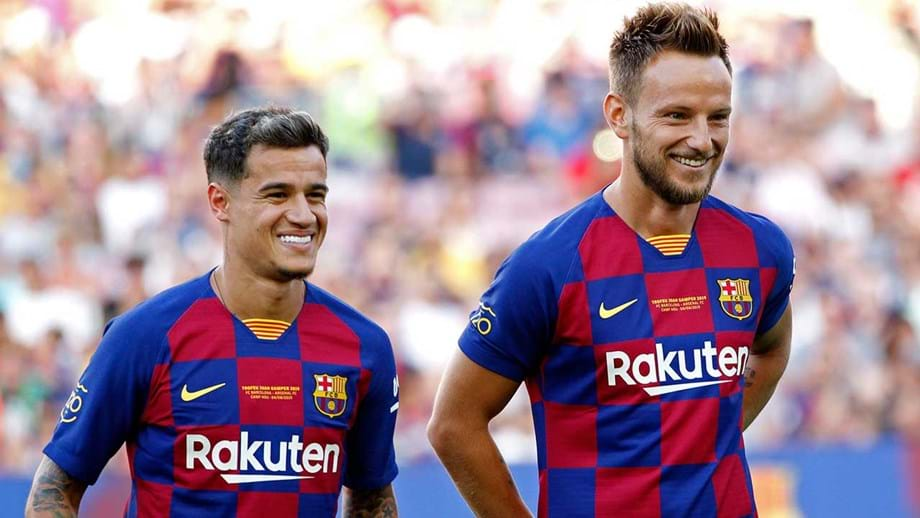 Barcelona tenta 'despachar' Coutinho e Rakitic antes do fecho de mercado