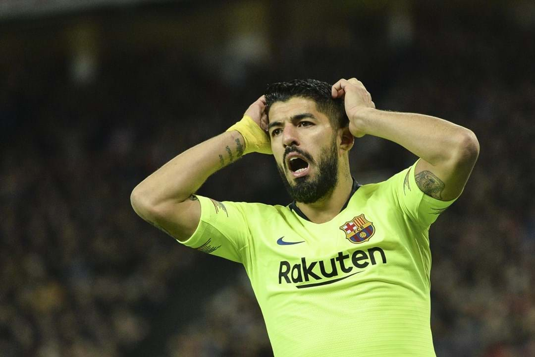 Suárez com lesão prolongada