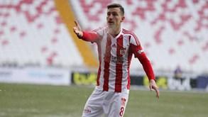 Sivasspor-Antalyaspor: formações travam forças nos 'quartos' da Taça da Turquia