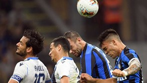 Lazio-Inter Milão: duelo de topo na Serie A