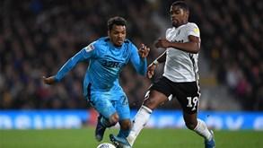Derby County-Fulham: Ivan Cavaleiro na luta pela subida