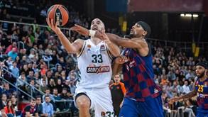 Panathinaikos-Barcelona: duelo de topo na Euroliga