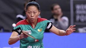 Fu Yu e Jieni Shao nos 'quartos' do Open da Hungria de ténis de mesa
